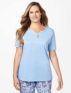 Pari� Henley Sleep Tee