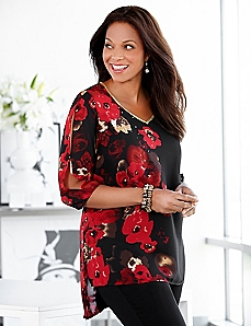 Roses & Rendezvous Tunic