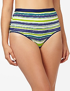 Color Stripe Cotton Full Brief