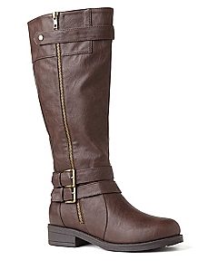 Double Buckle Moto Boot