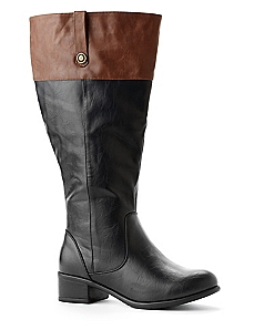 Tonal Riding Boot