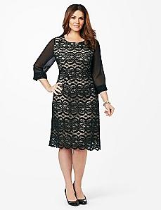 Affinity Lace Dress
