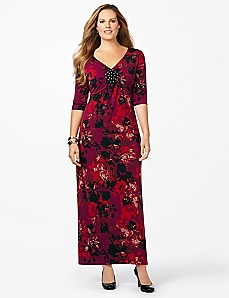 Romance In Bloom Maxi