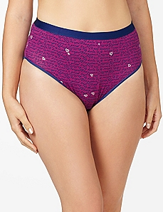 Ciao Bella Cotton Hi-Cut Brief