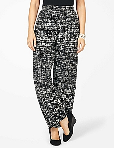Abstract Woven Soft Pant