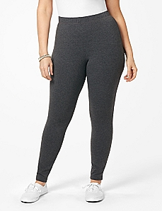 Heathered Active Legging