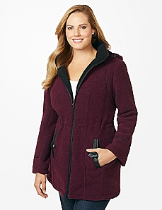 Lombard Boucle Coat