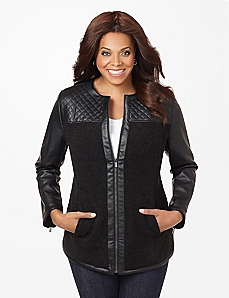 Quilted Fitzgerald Jacket