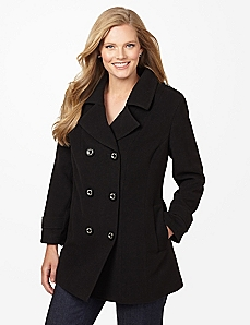 Classic Solid Peacoat