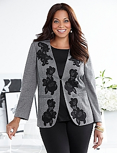Midtown Lace Jacket