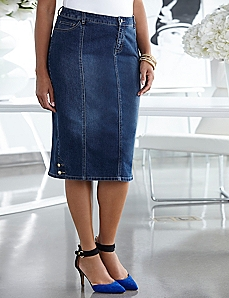 Belmont Denim Skirt