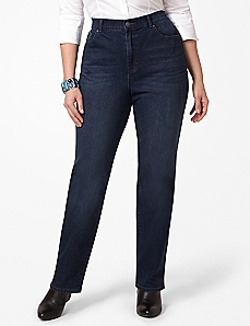Right Fit Straight Leg Jean (Curvy)