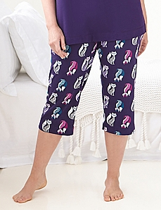 Foxy Lady Sleep Capri