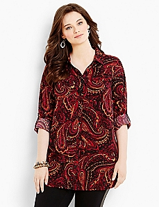 Paisley Marvel Blouse