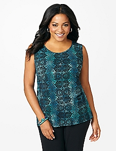 Lace Mermaid Tank