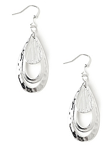 Teardrop Flutter Earrings