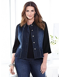 Progressive Denim Vest