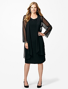 Black Diamond Jacket Dress