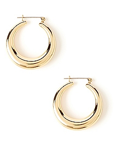 Strength Hoop Earrings
