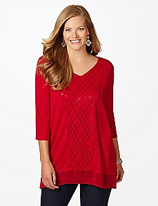 Festive Comfort Tunic