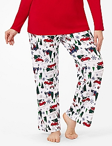 Tree Shopping Sleep Pant