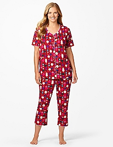 Ornaments Short-Sleeve Pajamas