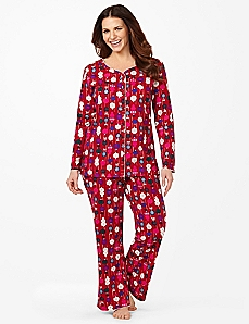 Ornaments Long-Sleeve Pajamas
