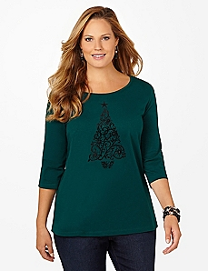 Splendor Pine 3/4-Sleeve Tee