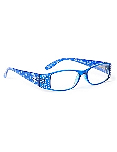 Studded Snowflake Reading Glasses