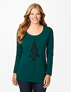 Splendor Pine Long-Sleeve Tee