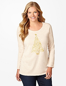 Light The Tree Long-Sleeve Tee