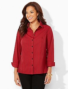 Non-Iron Sublime Striped Shirt