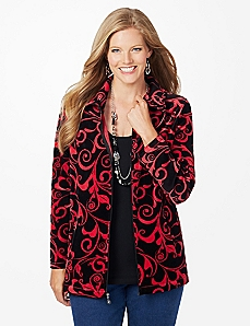Scroll Fleece Jacket