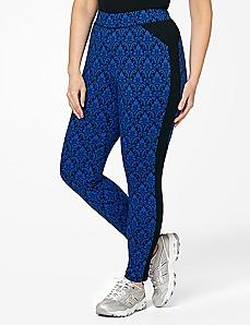 Jacquard Print Legging