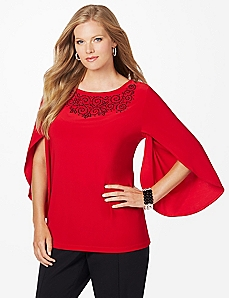 Split-Sleeve Top