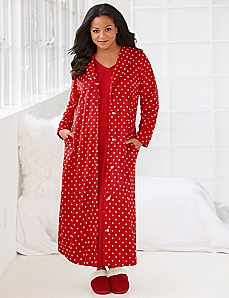 Dot Darling Robe