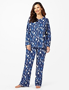 Dreamland Tree Pant Pajamas