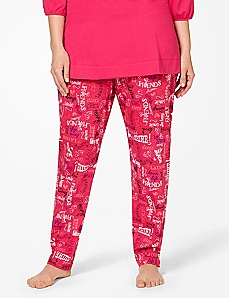 Be You Slim Leg Sleep Pant