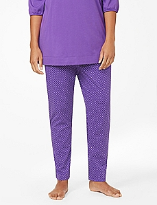 Dots & Spots Slim Leg Sleep Pant