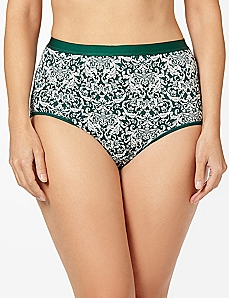 Jacquard Cotton Full Brief