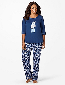 No Peeking Pajamas