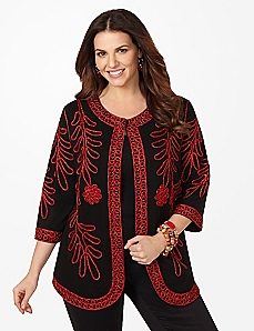 Noel Soutache Cardigan