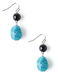 Earthy Drop Earrings