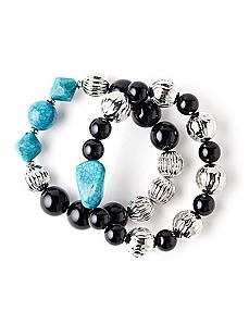 Earthy Pair Bracelets