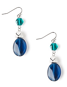 Falling Drop Earrings