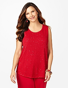 Tis The Season Sequin Tank