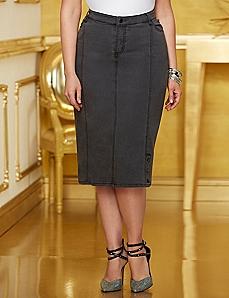 Dazzling Denim Skirt