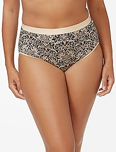 Tapestry Cotton Hi-Cut Brief