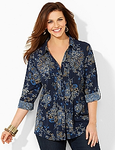Perfect In Paisley Blouse