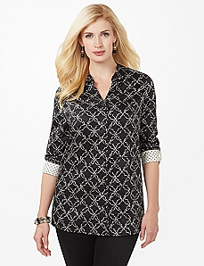 Sateen Intrigue Blouse